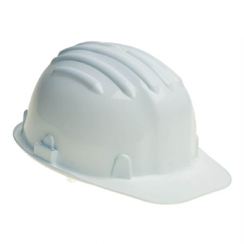 Warrior White Safety Helmet